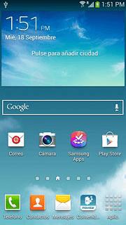 4ad581c862f Cómo hacer una videollamada con tu celular   Samsung Galaxy S4 Mini ...